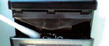 受光素子部の清掃(心線対照ヘッド部)