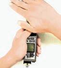 曲げ部を手で覆えば、大抵の場合は外部光検出表示が消えます。