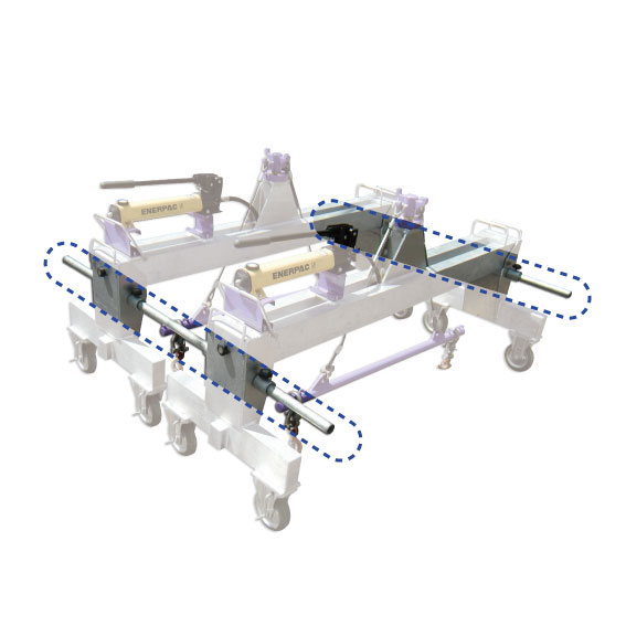 CAB開閉器4穴蓋用連結パイプ