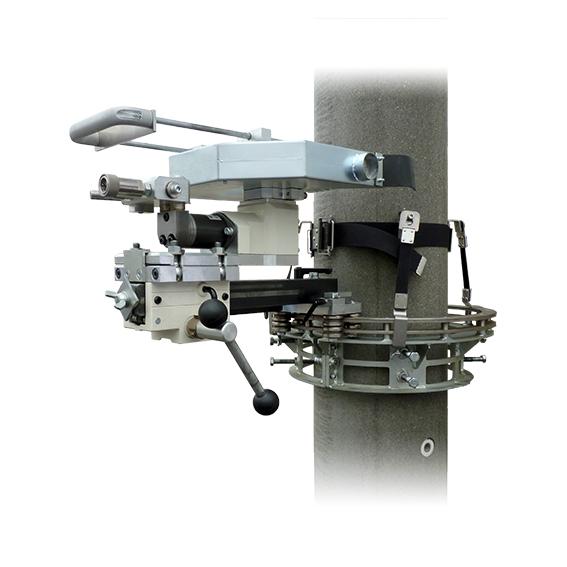 消音油圧式電柱切断機(TD-380)