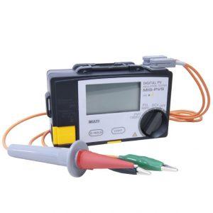 太陽電池パネル対応絶縁抵抗計(MIS-PVS)