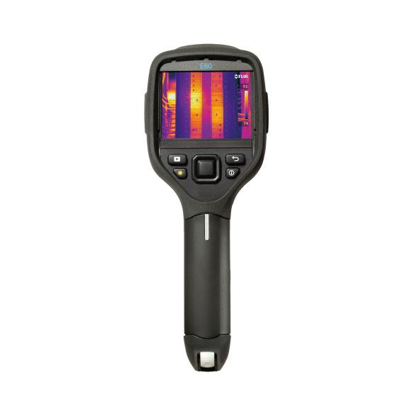 赤外線サーモグラフィ(FLIR E60)